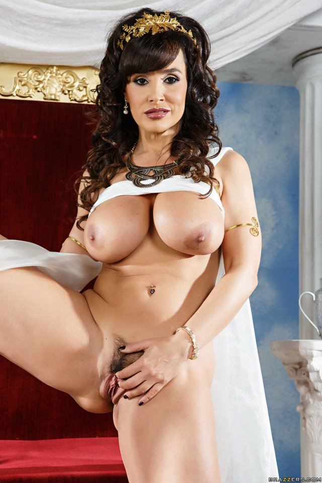 Here Lisa ann only naked